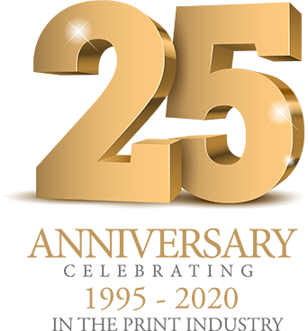 Celebrating 25 years in the print industry