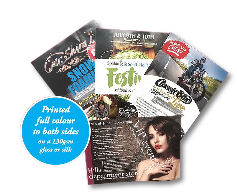 2500 A5 leaflets from only £99