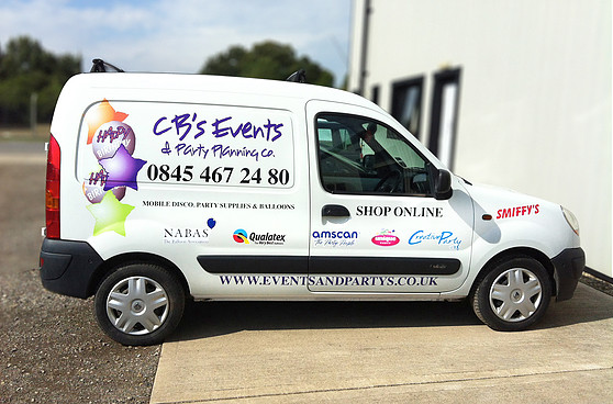 Displays, Signage & Vehicles